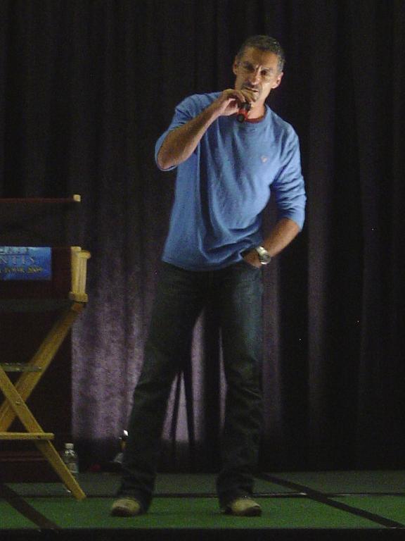Cliff-Simon - Ba'al at Los Angeles Stargate 2009