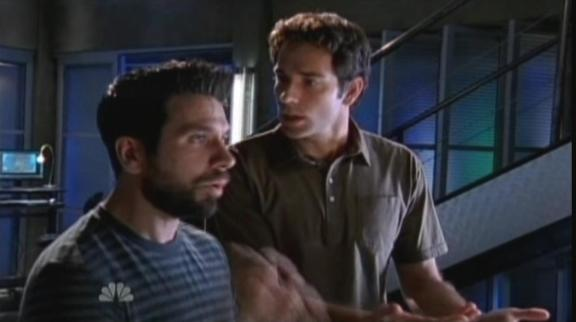 2010 Chuck Versus Other Guy - Morgan & Chuck explain to Beckman
