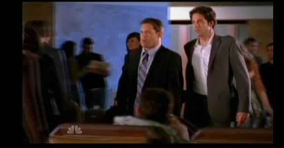 2010 - Chuck versus the Final Exam - Chuck with Perry at Gunpoint