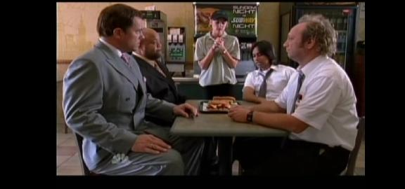 2010 - Chuck versus the Final Exam - Lunch at Subway Sandwich Shop