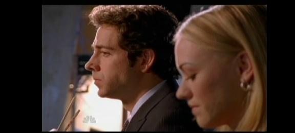 2010 - Chuck versus the Final Exam - Sarah and  Chucks at Stake Out