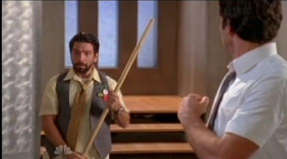 2010 Chuck vs The Beard - Morgan Finishes Bad Guy