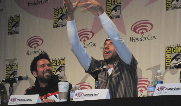 2010 WonderCon - Joshua and Zachary from Chuck