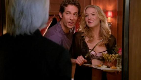 Chuck versus Honeymooners - It was only the waiter!