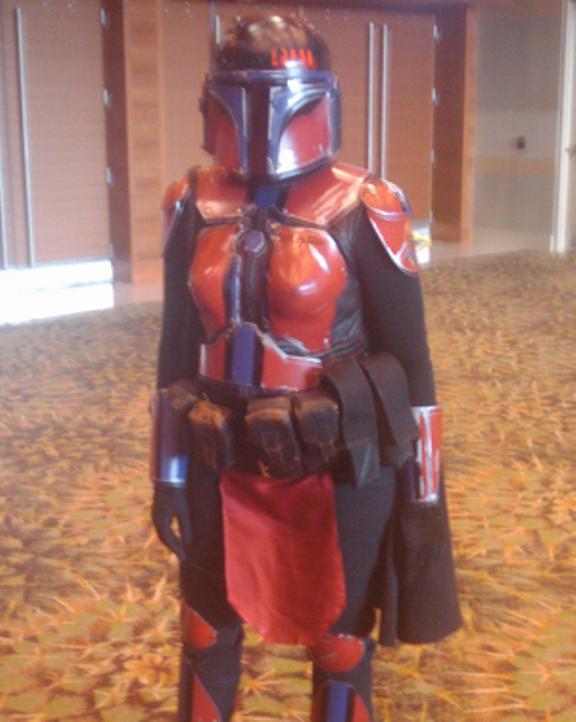 Costumed Comic Star Wars Character