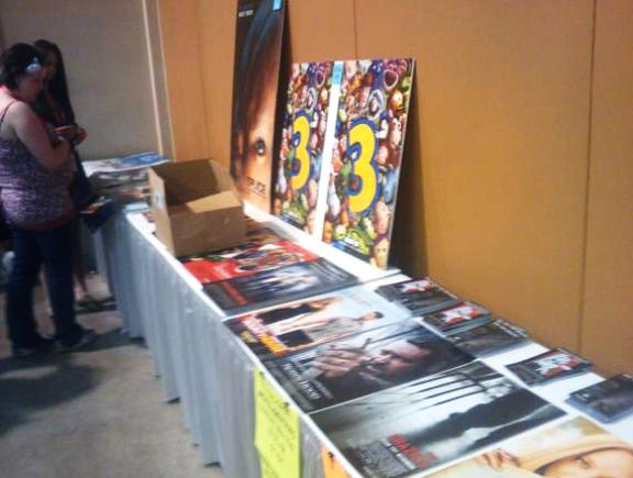 Free Poster Table at Phoenix Comicon