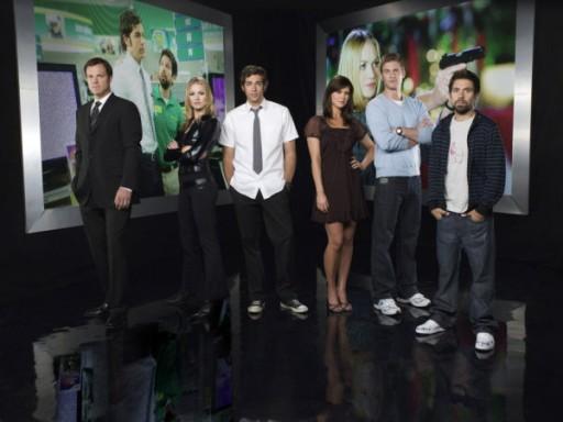 Chuck Team - Click to visit Chuck on NBC