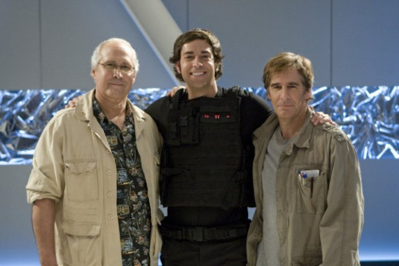 Chevy Chase, Zack Levi, Scott Bakula - Click to visit Chuck on NBC