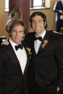 Scott Bakula, Zack Levi - Click to visit Chuck on NBC