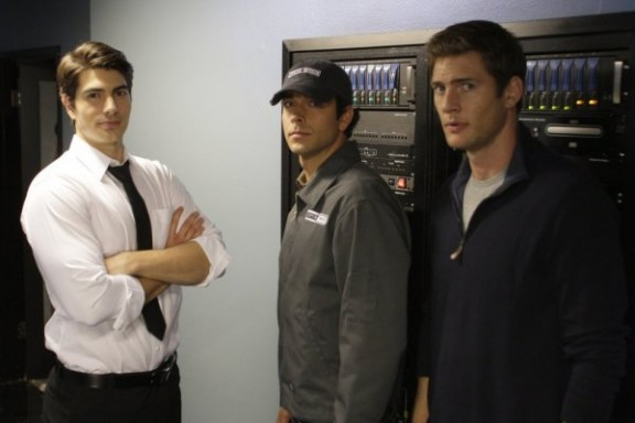 Brandon Routh - Zach Levi - Ryan McPartlin - Click to visit Chuck on NBC