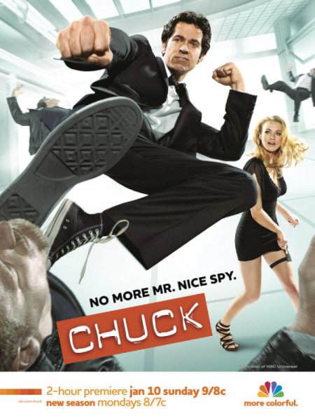 Chuck - No More Mr Nice Spy!
