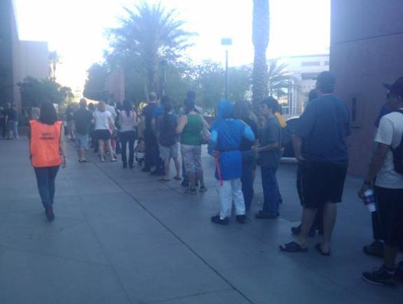 The Lines Begin at Phoenix Comicon!